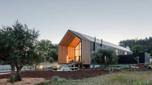 Дом-сарай для архитектора в Португалии