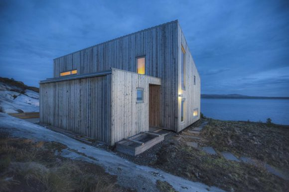 Дом на острове в Норвегии