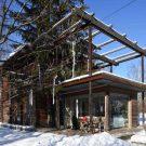 Жилой павильон (Living Pavilion) в России от Nefa Architects.
