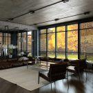 Загородный дом в стиле лофт (Loft House) в России от Дизайн студии Alex Loft.