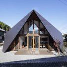 Дом Оригами (Origami) в Японии от TSC Architects.