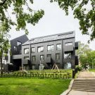 Жилая застройка (Residential Development) в Литве от Paleko architektu studija.