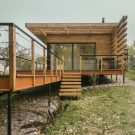 Летний дом (Summer House) в Белоруссии от Студия Zrobym architects.