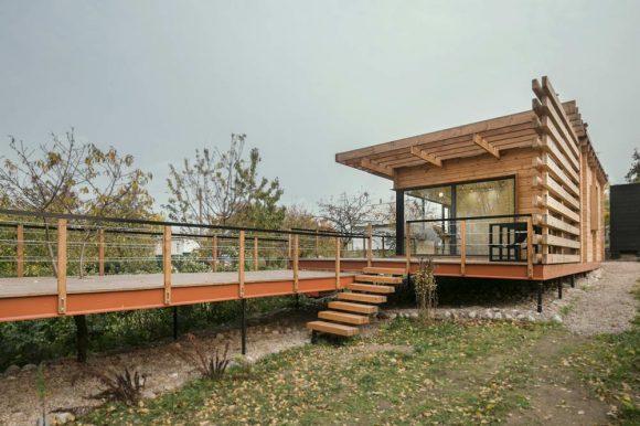 Летний дом (Summer House) в Белоруссии от Студии Zrobym architects.