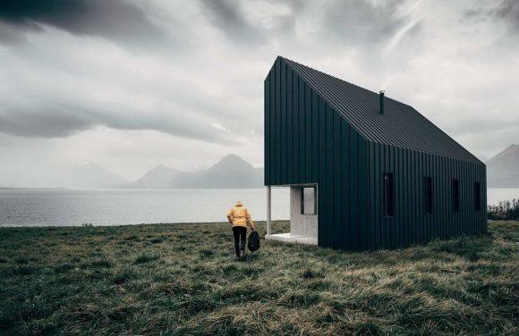 Деревянный модульный дом в Канаде