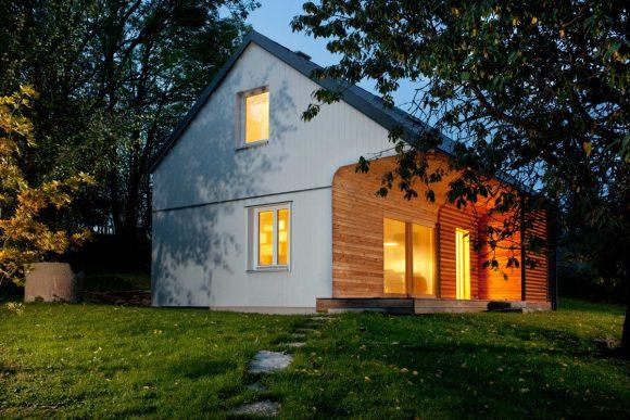 Деревянная дача в Чехии