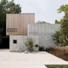 Бетонный дом-коробка (Concrete Box House) в США от Robertson Design.