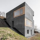 Дом Хабитат (Habitat Andergassen Urthaler) в Италии от Architekt Andreas Gruber.
