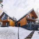 Дом в Тюмени (House in Tyumen) в России от A61architects и YYdesign.