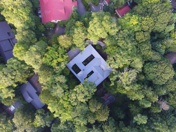 Дом с пятью дворами в Японии
