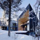 Резиденция Кикинг-Хорс (Kicking Horse Residence) в Канаде от Bohlin Cywinski Jackson.