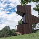 Микро-дом (Micro House) в Словении от OFIS Arhitekti.