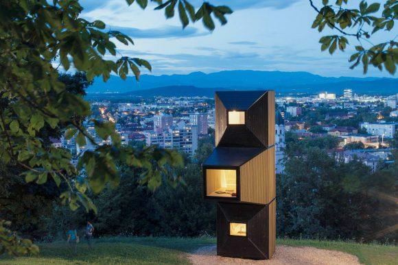 Модульный микро-дом в Словении