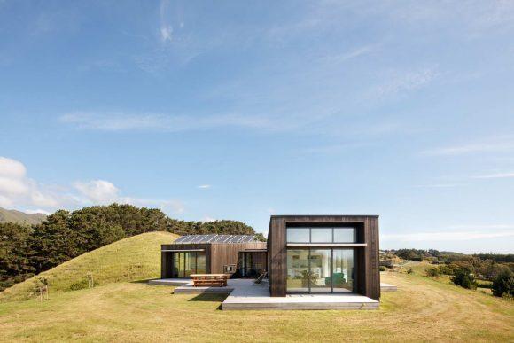 Дом Пека-Пека I (Peka Peka House I) в Новой Зеландии от Herriot Melhuish O'Neill Architects.