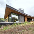 Дом «Красный Ястреб» (Red Hawk House) в США от Imbue Design.