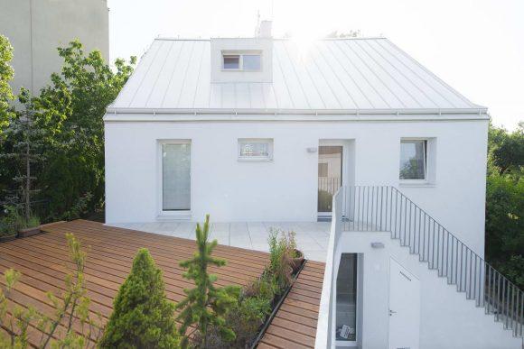 Реконструкция типового дома в Чехии