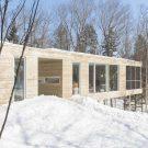 Просторный дом (Spacious House) в Канаде от Atelier Pierre Thibault.