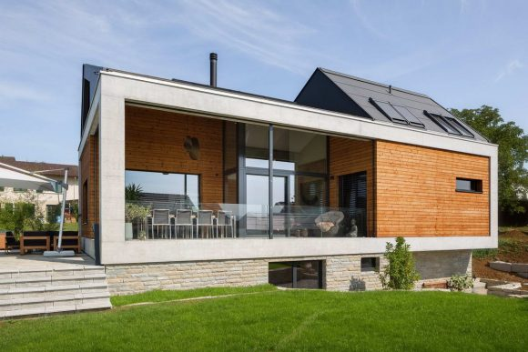 Простой швейцарский дом