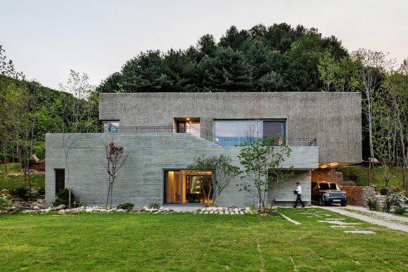 Загородный дом для музыканта в Южной Корее