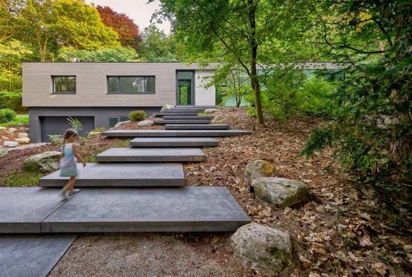 Минималистская вилла для архитектора в Голландии