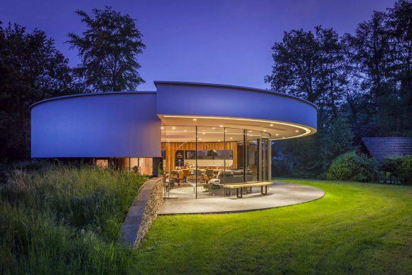 Круглый дом в Голландии