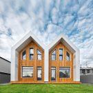 Блокированный жилой дом DoubleHouse в России от Bokarev Architects.