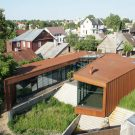 Семейный дом (Family House) в Литве от Architectural Bureau G.Natkevicius & Partners.