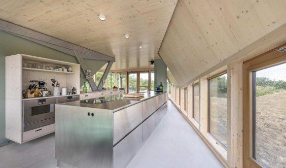 Дом на дюнах в Голландии