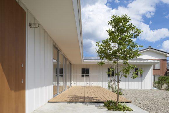Простой дом в Японии