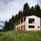 Дом MW (House MW) в Швейцарии от Ralph Germann Architectes S.A.