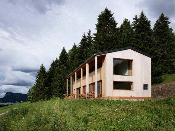 Дом с видом на озеро в Швейцарии 5