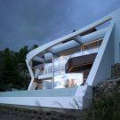 Дом в Альтеа Хиллс (House in Altea Hills) в Испании от RGB arquitectos.