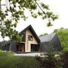 Дом на озере Калафкен (House in Lake Calafquen) в Чили от Apio Arquitectos.