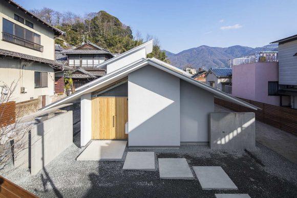 Деревенский дом в Японии