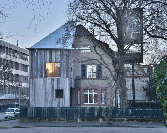 Расширение дома в Швейцарии