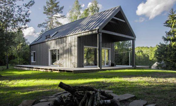 Охотничий домик (Hunting House) в Литве от Devyni architektai.
