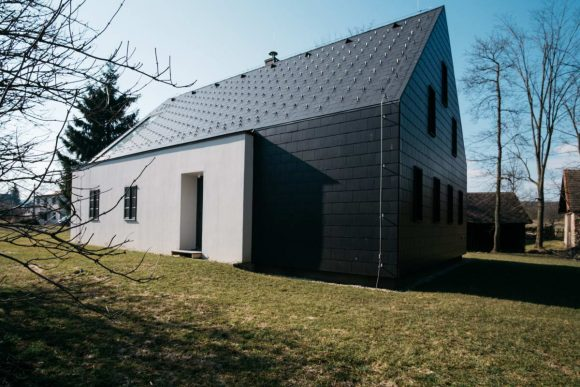 Старый дом (Old House) в Чехии от Lukas Urban и Martin Celikovsky