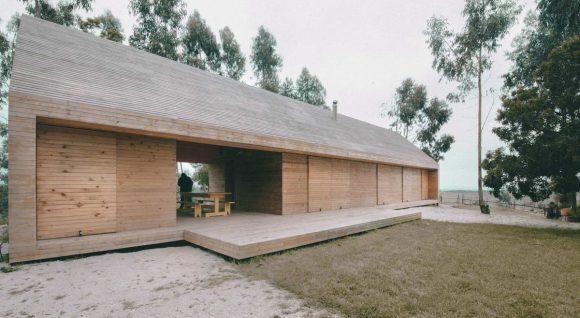 Дом-стог в Чили