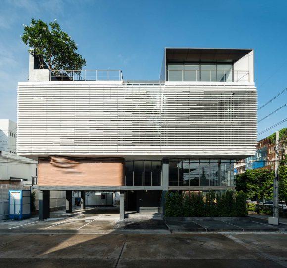 Домашний офис Peak Office в Таиланде от Pure Architect.