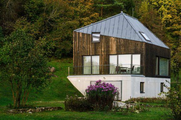 Дом для пожилой пары в Латвии