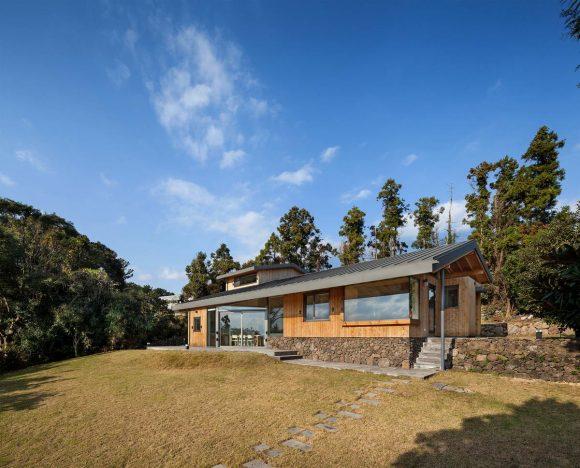 Гостевой дом (Tosan-ri Guest House) в Южной Корее от guga Urban Architecture.