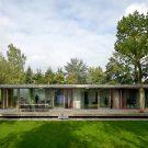 Вилла Беркель (Villa Berkel) в Голландии от Paul de Ruiter Architects.