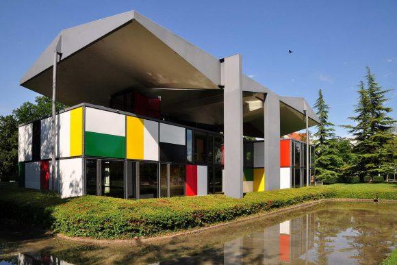 Центр Ле Корбюзье (музей Хайди Вебера) - Centre Le Corbusier (Heidi Weber Museum) в Швейцарии от Le Corbusier.