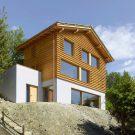 Дом DEY (DEY House) в Швейцарии от Cagna + Wenger Architectes.
