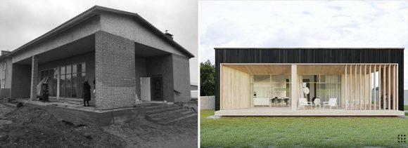 Реконструкция дома в Белоруссии