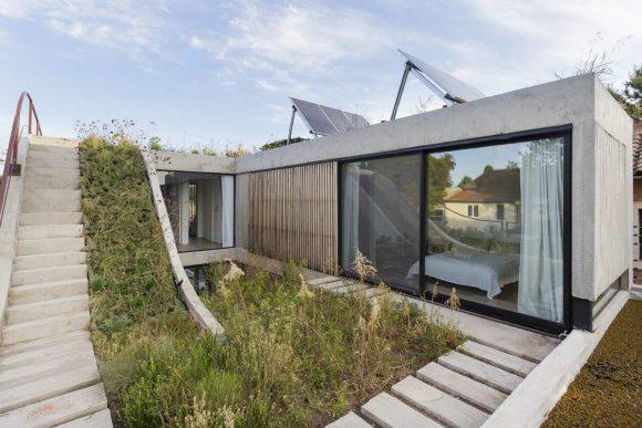 Дом с двором и садом на крыше в Аргентине