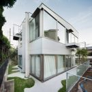 Дом Оямадаи (Oyamadai House) в Японии от frontofficetokyo.