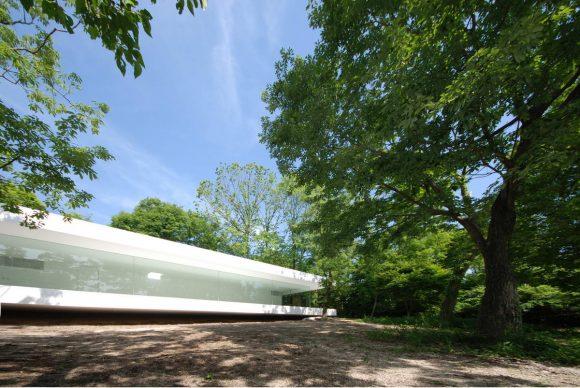 Дом с галереей в Японии