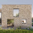 Дом на источнике (Vila na Prameni) в Чехии от Pavlicek + Hulin architekti.