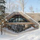 Дом-мост (Bridge House) в Канаде от LLAMA urban design.